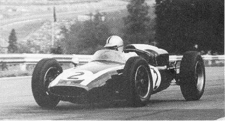 Alan Stacey, Lotus 18, Spa 1960