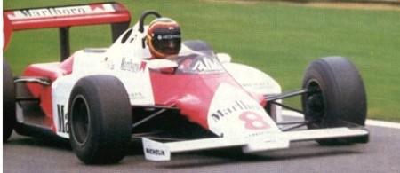 Stefan Bellof, McLaren-Test 1983