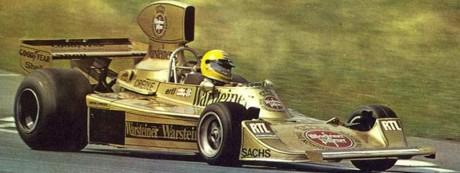 Harald Ertl, Hesketh 308B, Österreichring 1975
