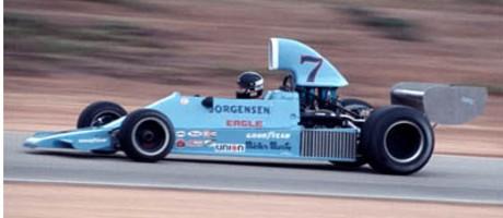 James Hunt, Jorgenson Eagle 755 Chevrolet F5000, Riverside 1974
