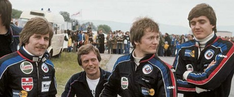 BMW Junior Team 1977 - Manfred Winkelhock, Marc Surer, Eddie Cheever