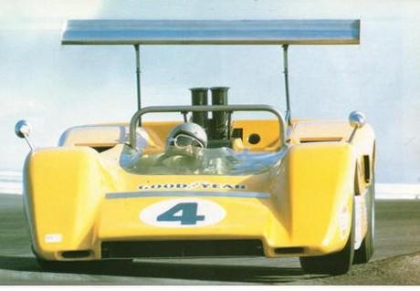 Bruce McLaren, McLaren M8-Chevy Can Am