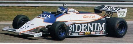 Miguel Angel Guerra, Osella, Imola 1981