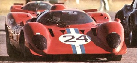 Mike Parkes, Ferrari 312P, 24h Daytona 1970