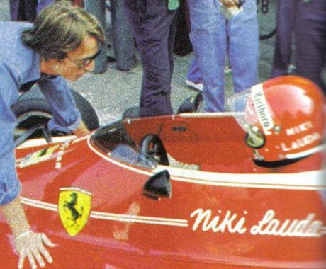 Luca Montezemolo, Niki Lauda, Monte Carlo 1975