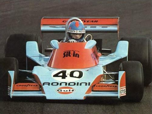 Alessandro Pesenti-Rossi, Gulf-Rondini-Tyrrell 007