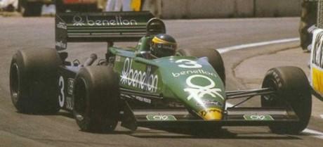 Michele Alboreto, Tyrrell 011-Ford, 1983