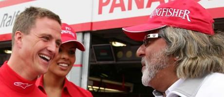 Ralf Schumacher, Vijay Mallya , 2007