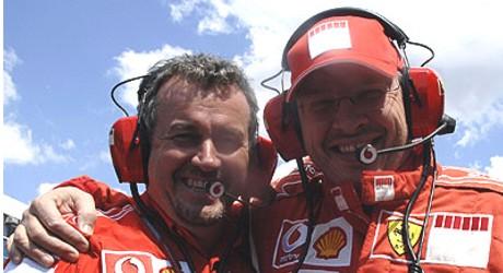 Nigel Stepney, Ross Brawn 2006