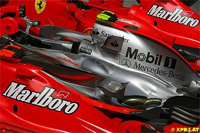 Ferrari vs Mclaren