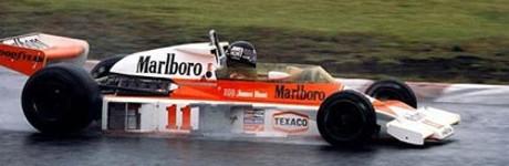 James Hunt, McLaren M23-Ford, Fuji 1976