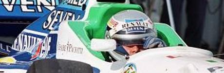 Alessandro Nannini, Benetton B196, Estoril 1996