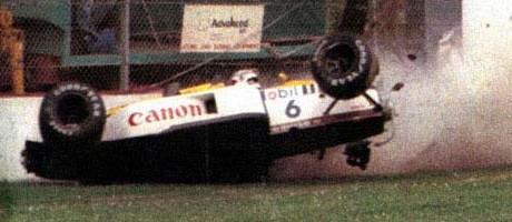 Nelson Piquet, Imola 1987