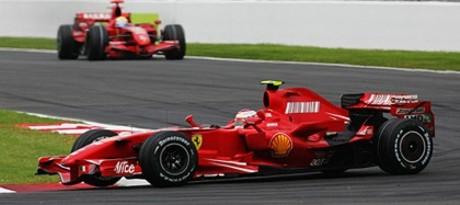 Raïkkönen & Massa, Ferrari F2007