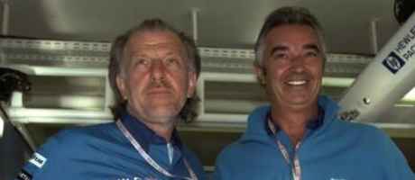 Dave Richards & Flavio Briatore