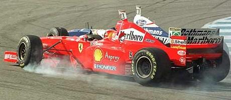 Schumacher/Villeneuve, Jerez 1997