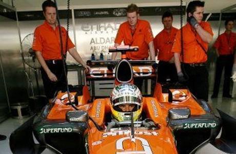 Adrian Sutil, Spyker 2007
