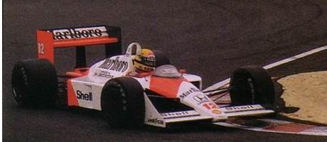 Ayrton Senna, McLaren MP4-4-Honda, Suzuka 1988