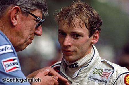Ken Tyrrell & Stefan Bellof, 1984