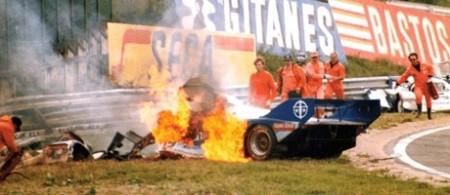 Stefan Bellof, Brun-Porsche 962, Eau Rouge, Spa 1/9/1985