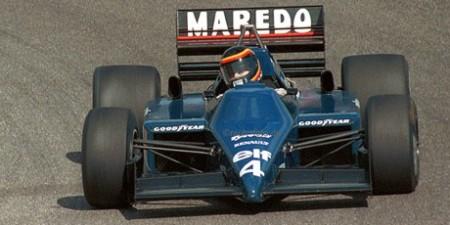Stefan Bellof, Tyrrell Renault V6-Turbo, Nürburgring 1985
