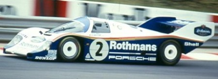 Stefan Bellof, Porsche 956, Spa 1983