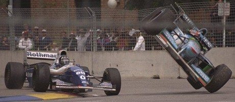 Damon Hill & Michael Schumacher, Adelaide 1994