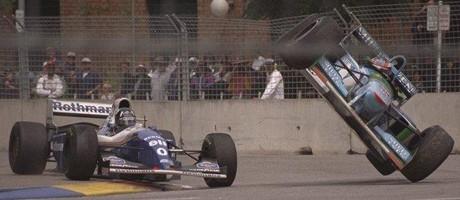 Damon Hill & Michael Schumacher, Adelaide 1994