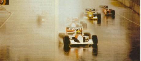 Ayrton Senna, Aidelaide 1991