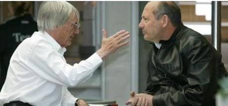 Bernie Ecclestone, Ron Dennis