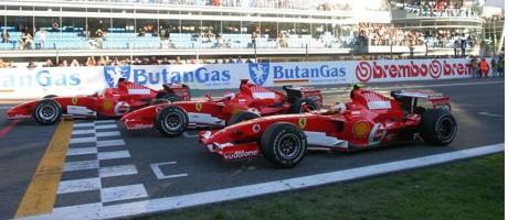 Ferrari 1-2-3?