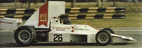 Graham Hill, Embassy-Hill GH1, 1975