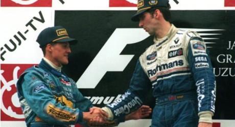 Michael Schumacher, Damon Hill, Suzuka 1994