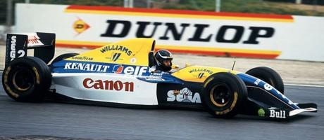 newey testing his 1993 fw15c williams renault at paul richard formula1. Black Bedroom Furniture Sets. Home Design Ideas