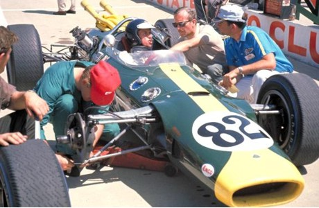 Jim Clark, Lotus 38, Indianapolis 1965