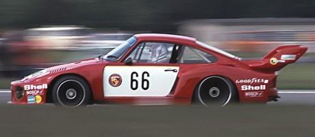 Rolf Stommelen, GeLo-Porsche 935, DRM-Champion 1977
