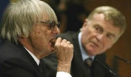 Bernie Ecclestone & Max Mosley