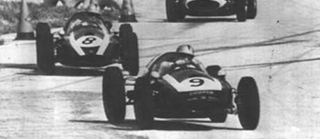 Bruce McLaren & Jack Brabham Cooper T51-Climax, Sebring 1959
