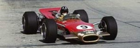 Graham Hill, Lotus 49, Monaco 1968