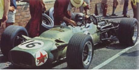 Jackie Stewart, Matra MS9, Kyalami 1968