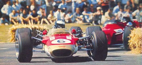 Jim Clark, Gold Leaf Team Lotus 49T, Lady Wigram Trophy, 20 Jan 1968