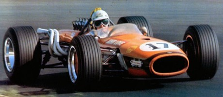 John Love, Team Gunston Brabham BT20-Repco, Kyalami 1968
