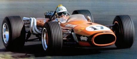 John Love, Team Gunston Brabham BT20-Repco, Kyalami 1968