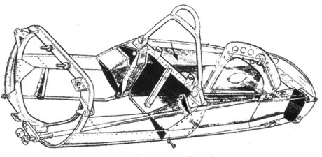 Lotus 25 monocoque