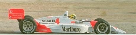 Ayrton Senna, Penske, 1992
