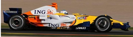 Fernando Alonso, Renault R28 pre-launch version