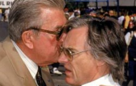 Jean-Marie Balestre & Bernie Ecclestone
