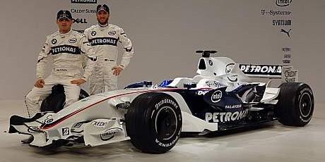 Kubica & Heidfeld, BMW Sauber F1.08
