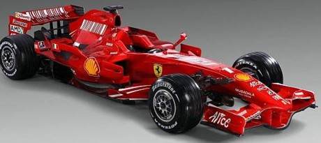 Ferrari F2008 launch version