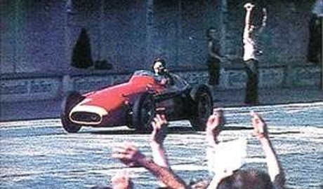 Juan Manuel Fangio, Maserati 250F, GP Argentina 1954